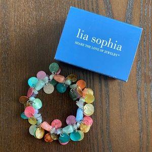 Lia Sophia Stretchy Bracelet